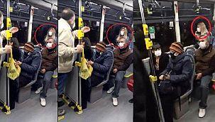 Ankara'da bir yolcu corona olduğunu ağzından kaçırdı