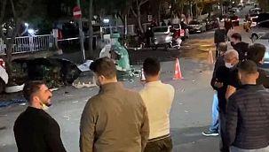Ataşehir'de çöp kutusunda patlama