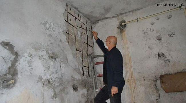 Avcılar'da hasarlı evlerde yaşayanlar isyan etti