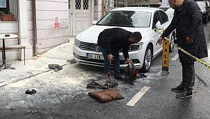 Beşiktaş'ta elektrik kablolarındaki patlamada 2 işçi yaralandı