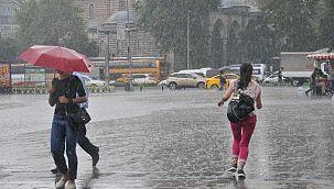 İstanbul'a kuvvetli rüzgar ve yağış uyarısı