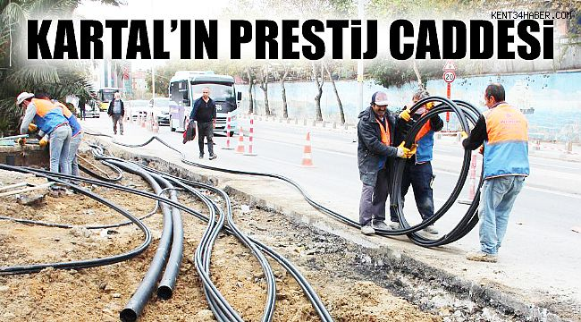 Kartal'ın Spor Caddesi 'Prestij' Kazanıyor
