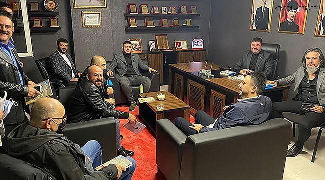 MHP Kartal'da görev paylaşımı yapıldı