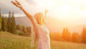 Neşeli ve enerjik olma zamanı