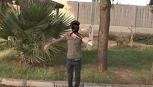 Terörist bombayı kolundaki alçıya saklamış