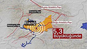 Elazığ depremi çevre illerde de hissedildi
