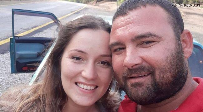 Eve giren komşuları genç kadını bıçaklanmış olarak buldu