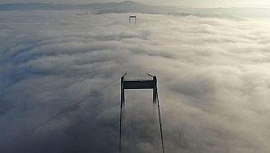 FSM Köprüsü'nde manzara büyüledi