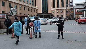 Gaziantep'te bir hastanede oksijen tüpü patladı