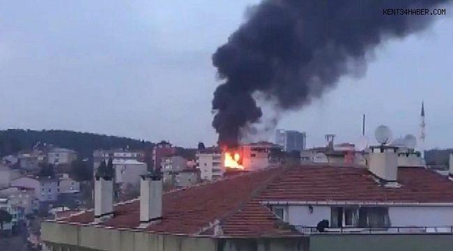 İstanbul'da korkutan alevler