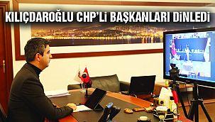 Kılıçdaroğlu, CHP'li Başkanları Dinledi