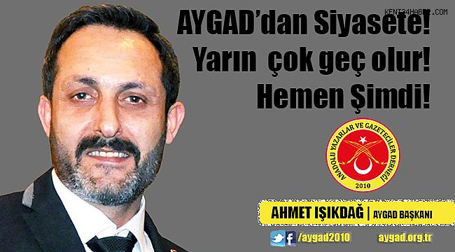 AYGAD 10 Ocak Mesajında Gazetecilerin açmazına vurgu yaptı