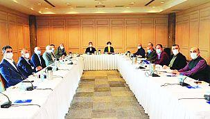 Başkan Yüksel CHP İl Başkanlığı'nın Toplantısına Katıldı