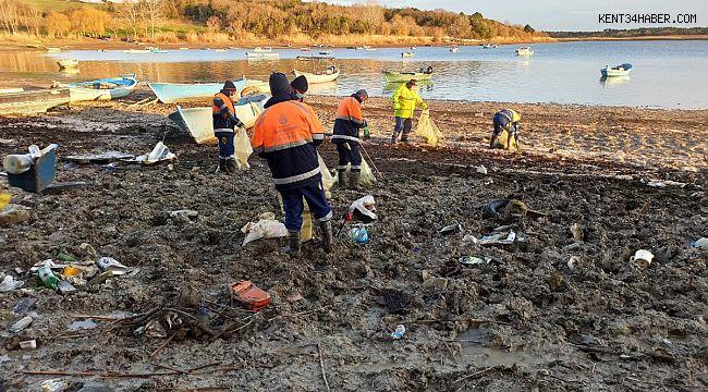 İstanbul'da barajlardan 40 ton atık çıktı