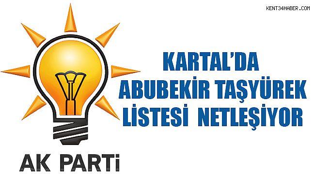 İşte AK Parti Kartal'ın yeni yönetim listesi