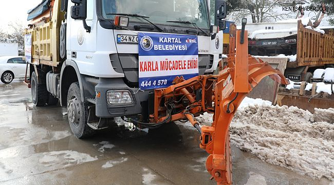Kartal Belediyesi'nden İzmit'e yardım eli