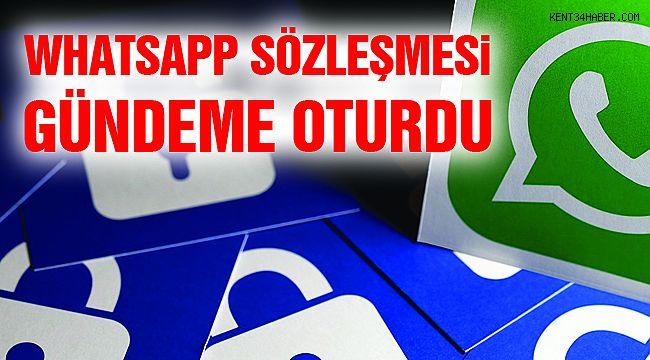 Whatsapp Sözleşmesi Gündeme Oturdu