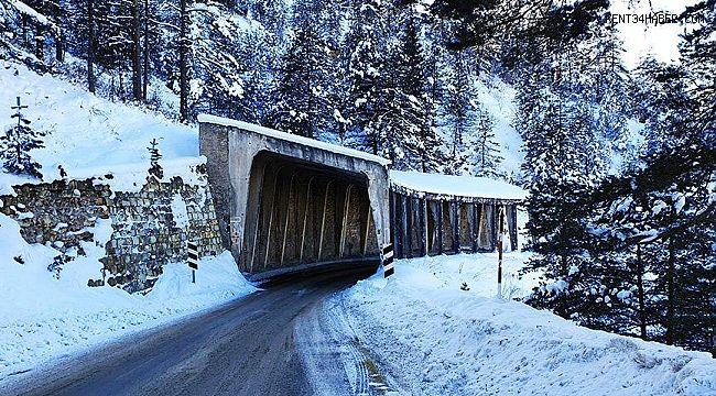 Zigana Çığ Tüneli her an yıkılabilir!