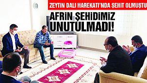 Afrin Şehidimiz Unutulmadı!