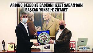 Ardino Belediye Başkanı İzzet Şaban'dan Başkan Yüksel'e Ziyaret