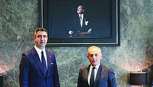 Başkan Yüksel'den Kemal Çebi'ye Ziyaret