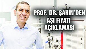 BioNTech CEO'su Şahin'den Açıklama