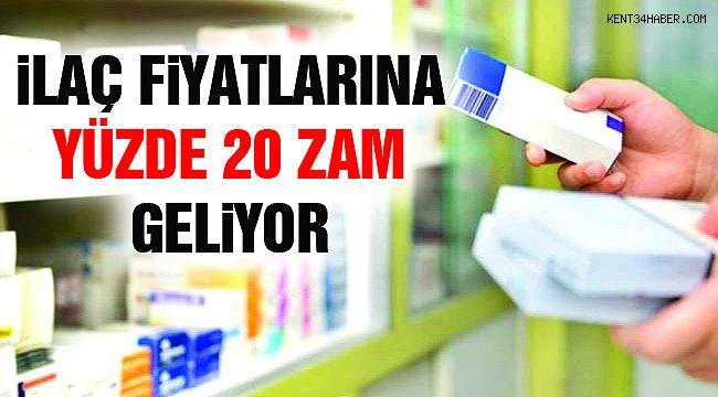 İlaç Fiyatlarına Yüzde 20 Zam Geliyor!