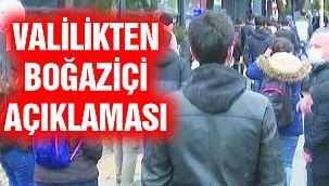 İstanbul Valiliği'nden Yeni Boğaziçi Üniversitesi Açıklaması