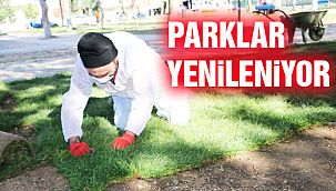 Kartal'ın Parkları Yenileniyor