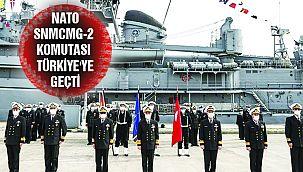 NATO SNMCMG-2 Komutası Türkiye'ye Geçti