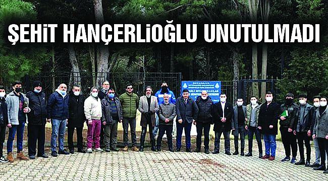 Şehit Hançerlioğlu, Mezarı Başında Anıldı