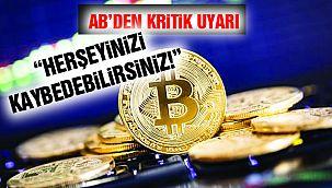 AB'den Kripto Para Uyarısı!
