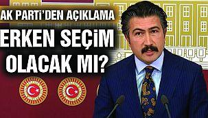 AK Parti'den Seçim Açıklaması