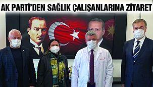 AK Parti Kartal, Sağlık Çalışanlarını Unutmadı