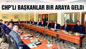 Başkan Gökhan Yüksel CHP'li Belediye Başkanları Toplantısına Katıldı