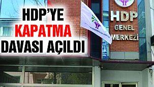 HDP'ye Kapatma Davası Açıldı! Nedeni Belli oldu