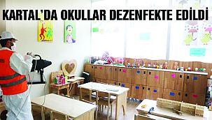 Kartal Belediyesi Okullarda Dezenfekte Çalışması Başlattı