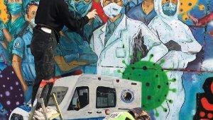 Kartal'ın En İşlek Caddesi 'Filyasyon' Adı Verilen Resimlerle Renklendirildi