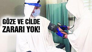 'Kovid-19 Kalkanı' Hastanelerde Denendi