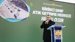 Sultanbeyli Atık Getirme Merkezi Hizmete Girdi