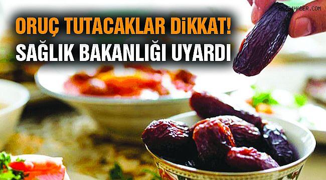 Bakanlıktan Ramazan Açıklaması