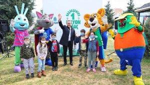 Başakşehir'de 1 Milyon Fidan İçin Düğmeye Basıldı