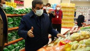 """Başkan Göksu: 'İyilik Market'inde Her Şey Var"""""""