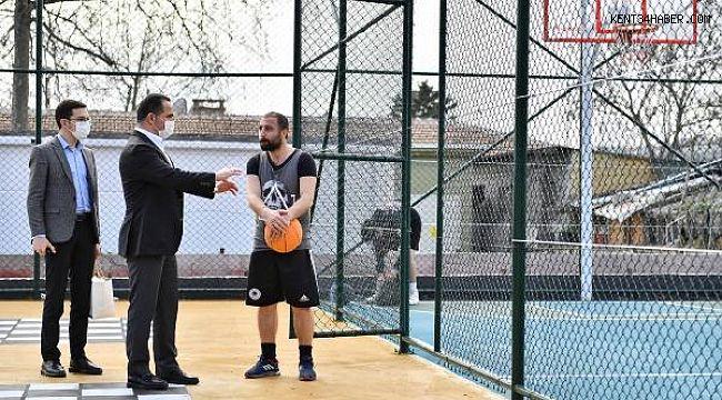 Beyoğlu'nda Spora Ve Sporculara Tam Destek