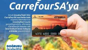 İstanbul Kartlılara Markette Alışveriş Ve Yükleme Yapma İmkanı