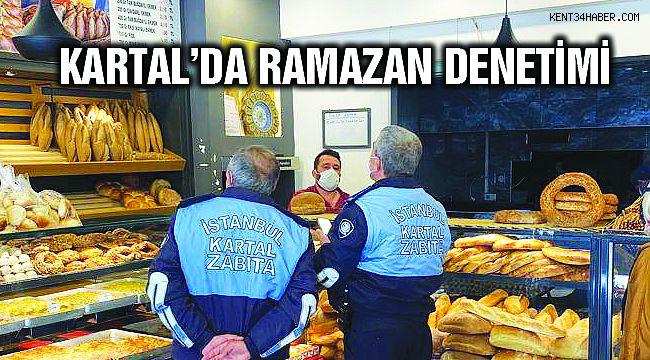 Kartal Belediyesi'nden Fırın ve Marketlere Ramazan Denetimi