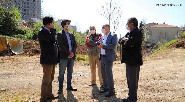 Kartal'daki Balcı Deresi'nin temizlik ve bakımı için çalışmalar başladı