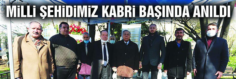 Milli Şehit Boğazlıyan Kaymakamı Kemal Bey, Mezarı Başında Anıldı