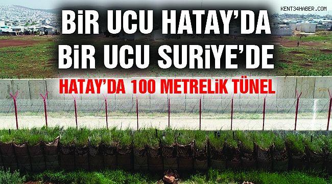 Sınır Ötesinden Tünel İle Türkiye'ye Gireceklerdi!