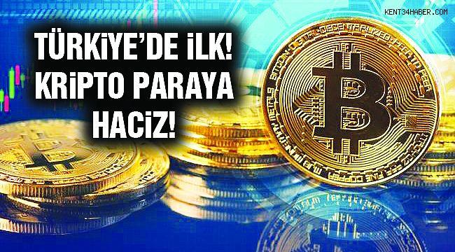 Türkiye'de İlk Kez Kripto Paraya Haciz Konuldu